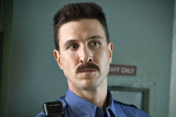Nick Sobotka, you've come a long way. Or maybe it's just the facial hair. (Netflix)